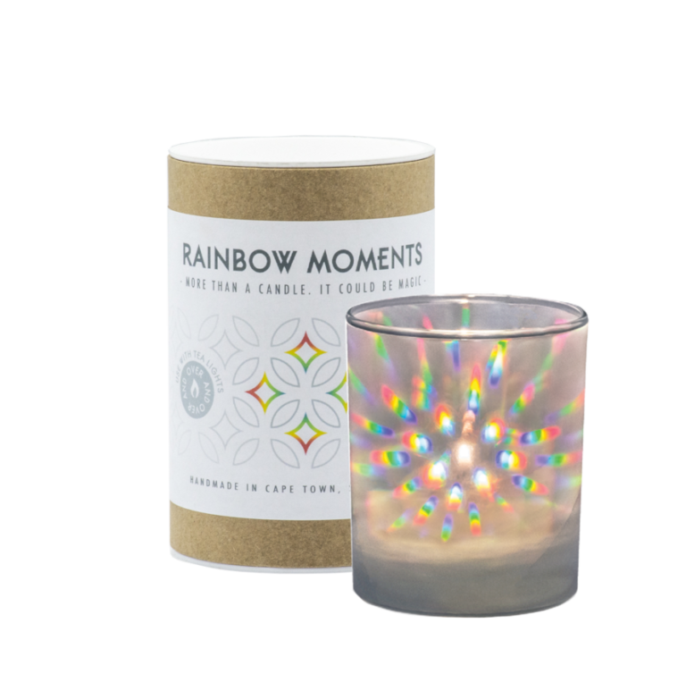 RAINBOW MOMENTS - More than a candle. It could be magic