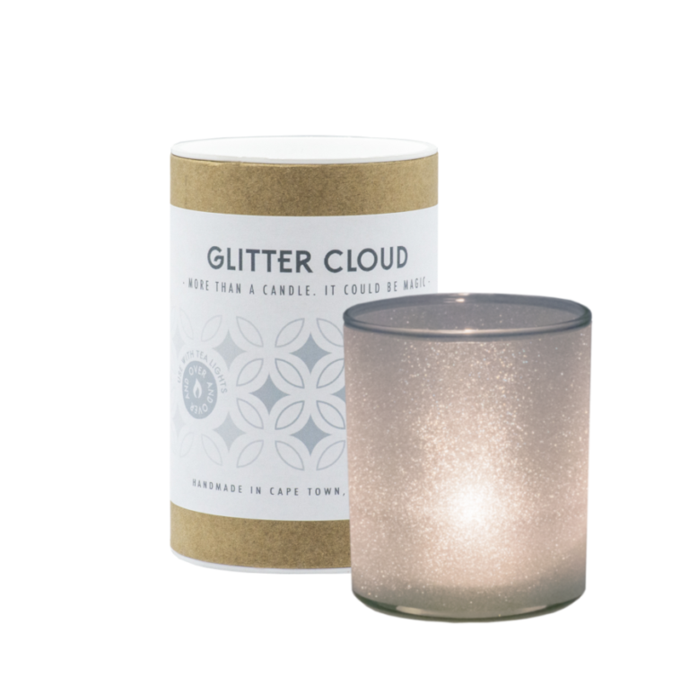 GLITTER CLOUD - More than a candle. It could be magic
